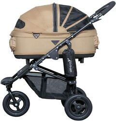 Airbuggy For Pet Dome 2 With Brake Sand Beige M Size Ad1632 Stroller For Dog