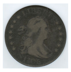 1806 Bust Quarter Old Anancs Mini Holder Fine 12 Great Circulated Cameo Look