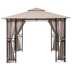 Mastercanopy Gazebo Mosquito Netting Screen Walls For 10' X 12' Or 11'x 14' Only