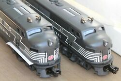Williams By Bachmann 20194 F-3 Aa 2344 Nyc Powered And Dummy Set