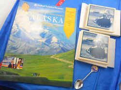 Holland America Cruise Line Rotterdam Lot Of 4 Souvenirs, Spoon, Tiles, Brochure