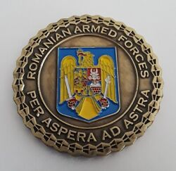 Romanian Armed Forces Isaf Kandahar Afghanistan 2012 Military Challenge Coin