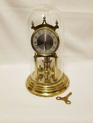 Kundo 400 Day Anniversary Clock With Dome And Key. Working Condition.
