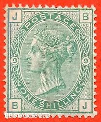 Sg. 150. J109. Bj . 1/- Green. Plate 9. A Fine Unmounted Mint Example. B52057