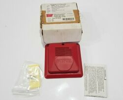 Amseco Cm24wr Horn Strobe Cm24w Select A Chime Horn Bell Fire Alarm / Lot Of 2