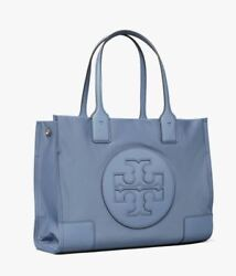 TORY BURCH WOMEN HANDBAG ELLA MINI TOTE BAG BLUE $135.00