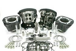 Zipperandrsquos Muscle 124andprime Kit For 2017-2019 107andprime Harley Davidson Milwaukee 8 Models