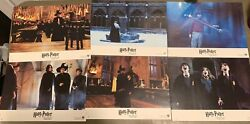 Harry Potter And The Sorcerer's Stone 10 Rare French Vintage Lobby Cards