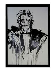 Salvador Dali Framed Canvas Giclee Spainand039s Great Surrealist Painter Rare Find