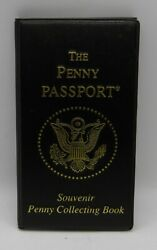 The Penny Passport Souvenir Penny Collecting Book Holder Full Set 36 Pennies