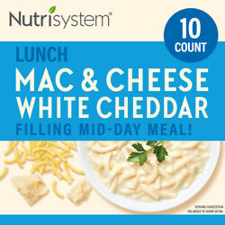 Nutrisystem White Cheddar Mac And Cheese, 1.97 Oz, 10 Ct