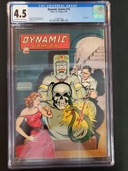 Dynamic Comics 13 Chesler 1945 Cgc 4.5 Off White To White Pages Comics Book