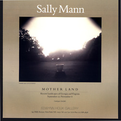 1997 Sally Mann Mother Land Landscapes Of Georgia And Virginia Vintage Print Ad
