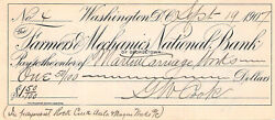 Martin Carriage Works Rock Creek Riggs Bank Wahington Dc Early Banking History
