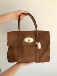 Mulberry Bayswater Limited Edition Cookie Bag In Matte Oak