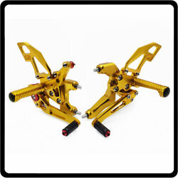 Adjustable Rearsets Foot Pegs Rear Set Footrest For Ducati Panigale V2 2020-2021