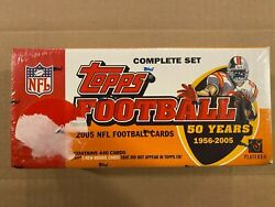2005 Topps Football Complete Set Sealed-set Includes Aaron Rodgers Rookie Card