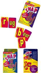 Learning Resources Snap It Up Phonics Reading Card Game, Homeschool, Reading