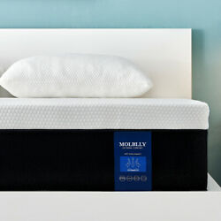 Molblly Queen Size Memory Foam Mattress With Cerpur-us Certified In A Box