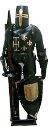 18 Gage Medieval Combat Full Body Armour Knight Suit Adult Halloween Larp.