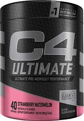 Cellucor C4 Ultimate - Pre Workout Powder - 40 Servings - Strawberry Watermelon