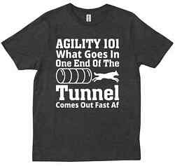 Agility Life Competition Dog Border Collie Sport Handler Funny 1 T shirt