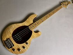 Used And03996 Music Man 20th Anniv Sting Ray Natural 4string Bass Birds Eye Maple 1h