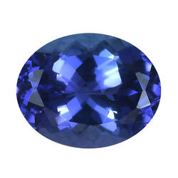 Shop Lc Aaa Blue Tanzanite Loose Gemstone Oval Shape For Jewelry Making Ct 2.83