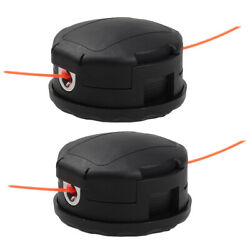 2xtrimmer Head For Echo Pas-225 Gt-2200 Srm-225 Srm-280 Straight Shaft Trimmer