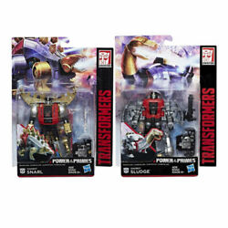 Transformers Power Of The Primes Potp Dinobot Snarl And Sludge Mosc Moc Misb New