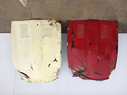 Jaguar E-type Bonnet Will Fit 1962 And Above.andnbsp I Have 2 Hoods. Both Are Dammageandnbsp