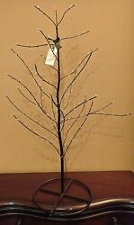 79 Pottery Barn Jeweled Tree For Mercury Glass Easter Egg Ornaments Jewel Stand