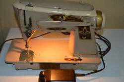 Vintage Singer Manufacturing Co. Model 503a Sewing Machine Foot Pedal Rocketeer