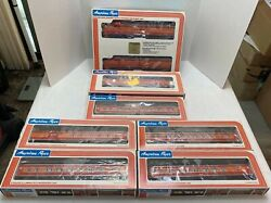 American Flyer Southern Pacific Passenger Set - 8150 Aba With 5 Cars New In Box