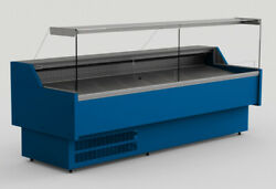 Oris Refrigerated Serve Over Counter Display Various Colours And Dimensions