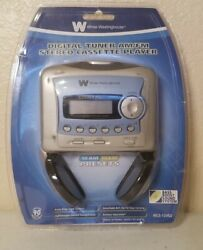 New Sealed White-westinghouse Digital Tuner Am/fm Cassette Player Wcs-12450