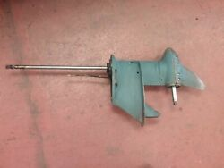 Lower Unit From A 1952 25 Hp Evinrude Outboard Motor