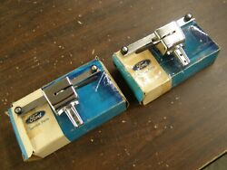 Nos Oem Ford 1969 Galaxie + Torino Station Wagon Roof Rack Retainers Pair