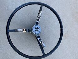 1960s Ford Mustand Gt Steering Wheel