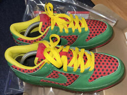 Size 9.5 - 2013 One Of One Nike Sb Dunk Low Id Watermelon
