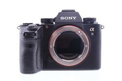 Sony Alpha Ilce-9 24.2mp Mirrorless Camera - Black Body Only Used