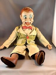 1950s Jerry Mahoney Ventriloquist Dummy Puppet Paul Winchell By Juro Novelty