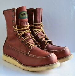 Vintage Red Wing Boots 877 Irish Setter Andlsquo1994andrsquo Size 8.5 D Made In Usa
