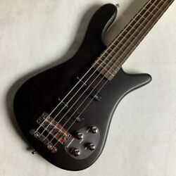 Used Warwick Rockbass Streamer Lx5 Blk Active Bass 5 String 2-band Eq Niceandclean