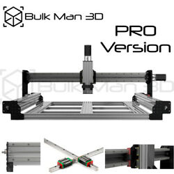 Queenbee Pro Cnc Router Machine Mechanical Kit Precise Linear Rail Upgrades