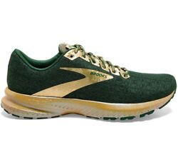 Brooks Launch 7 Lucky St Patrickand039s Green/gold Womenand039s Running Shoe [1203221b332]