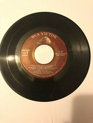 Rca Victor 45 Rpm Record New Orthophonic High Fidelity Part