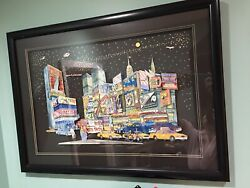 Mcgee Broadway Lights 3d Aprox 18and039and039 X 27and039and039 224/375 Very Rare.