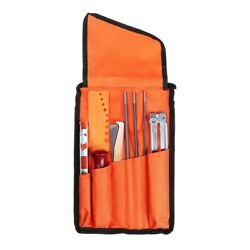 10 Pcs Chainsaw Sharpening File Filing Kit Chain Sharpen Saw Files Hand Tool
