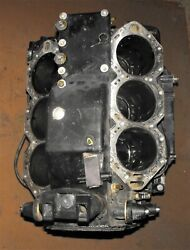 Evinrude 150 Hp 2 Stroke Cylinder Crankcase Assembly Fits 2000